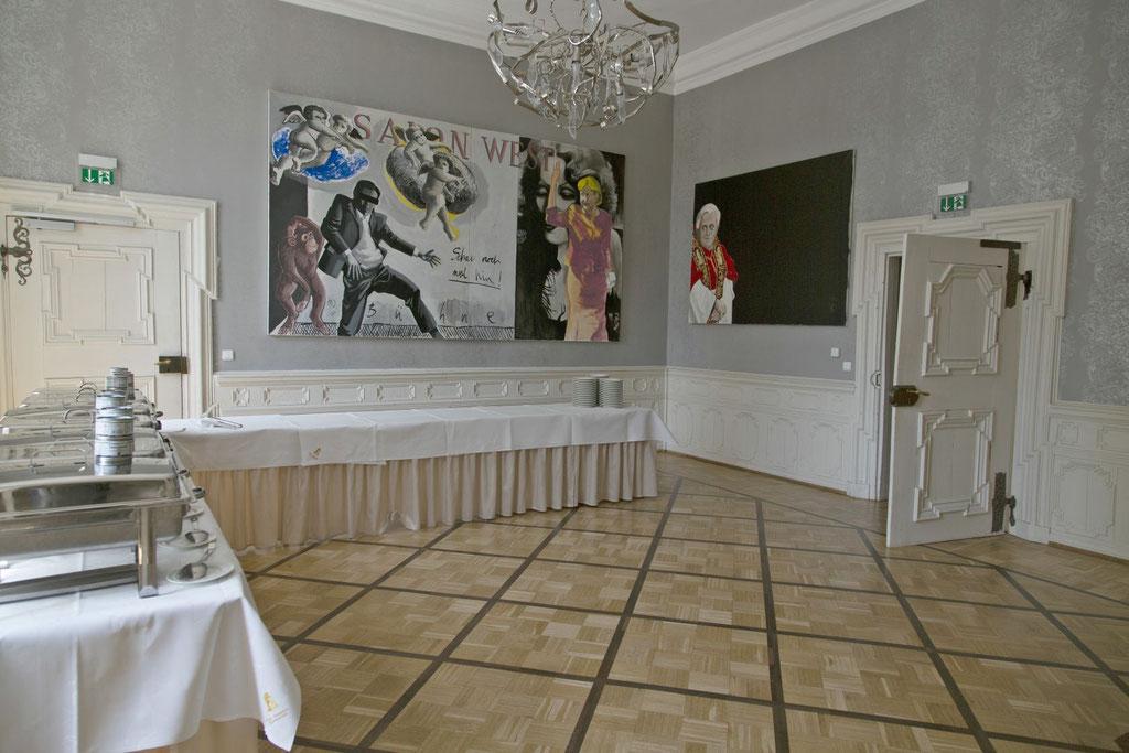 Hochzeitsfeier in der alten Abtei Klosterpforte Marienfeld