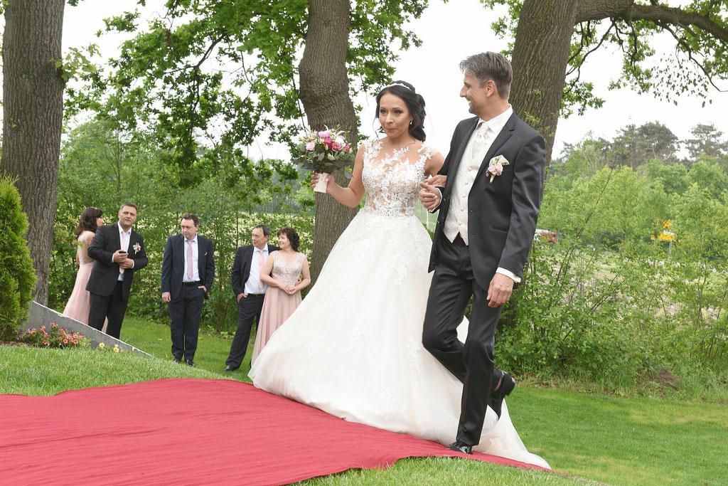 First Look - Die erste Begegnung als Braut und Bräutigam