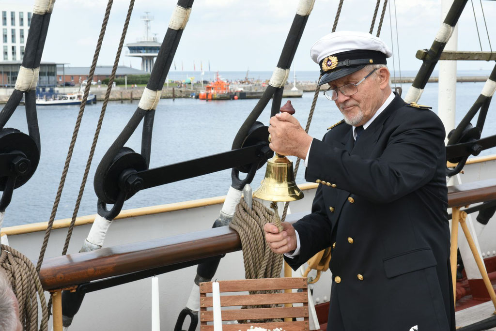Kapitänstrauung auf der Passat