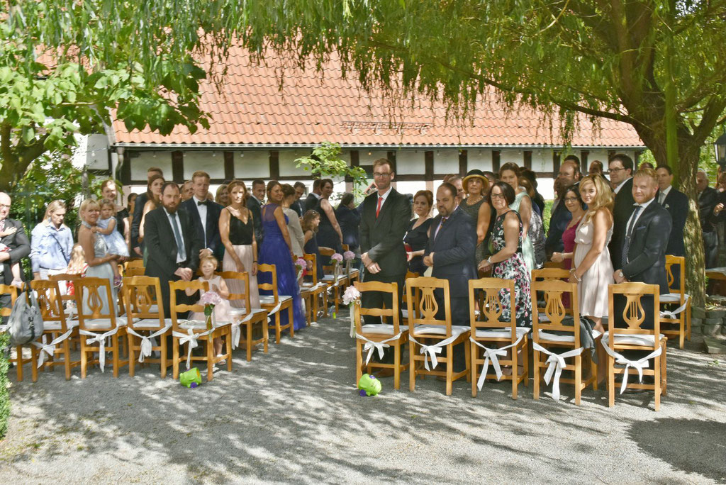 Hochzeit mit freier Trauung auf dem Hülshoff in Lippstadt