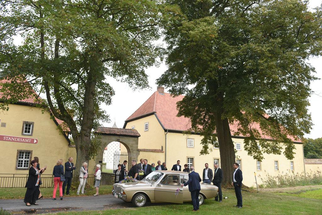standesamtliche Trauung auf Schloss Hünefeld