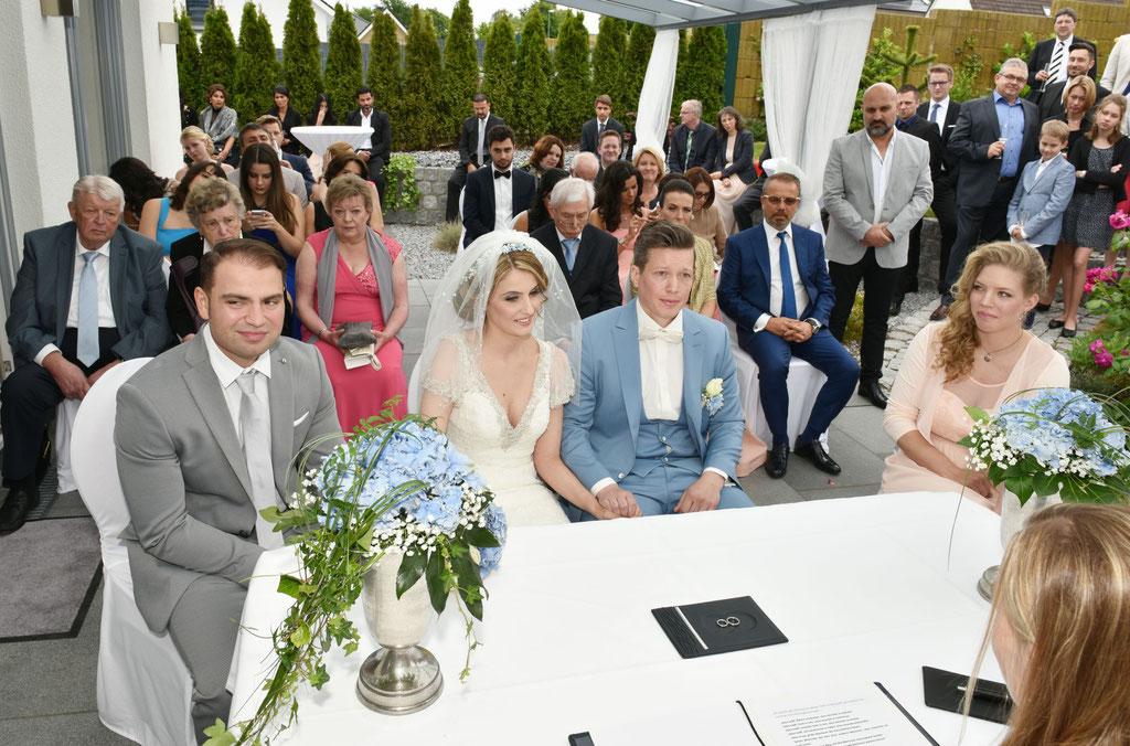 Hochzeit in Rheda Wiedenbrück