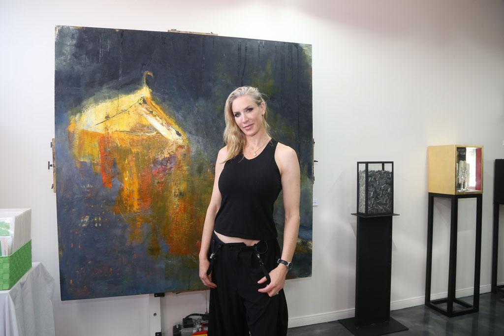 Brewery Artwalk - Artist Emily Halpern