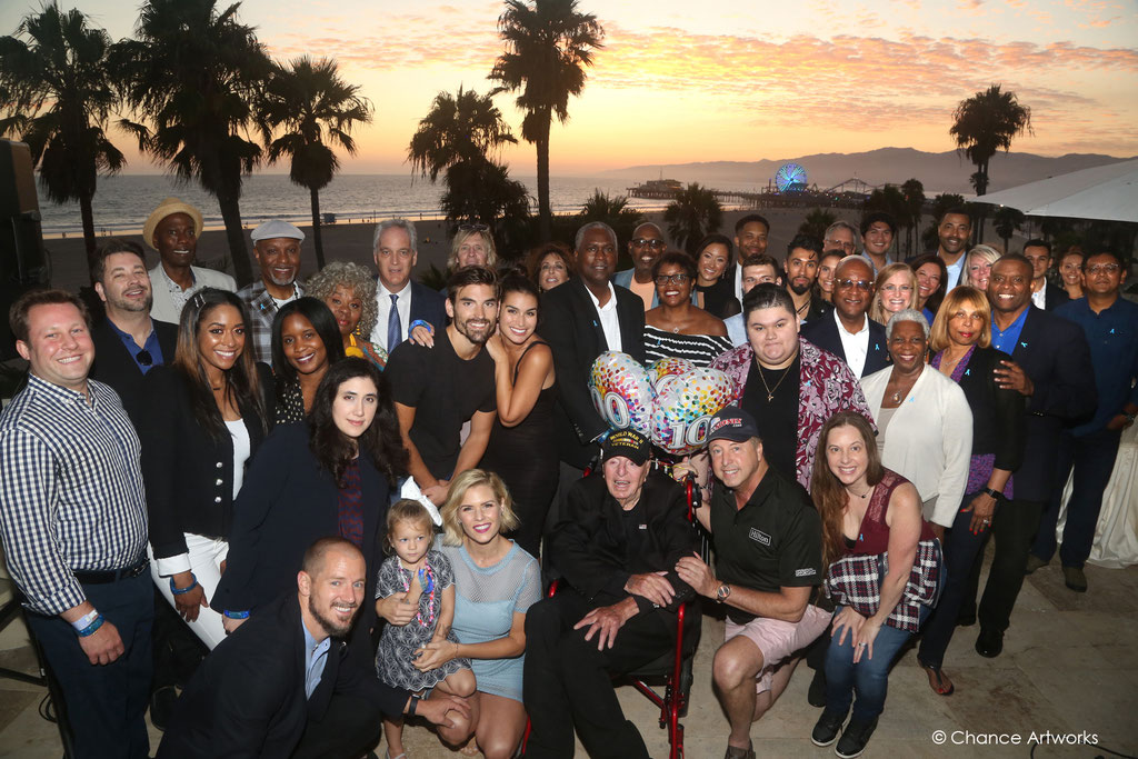 Celebrity Charity event group photo in Santa Monica.