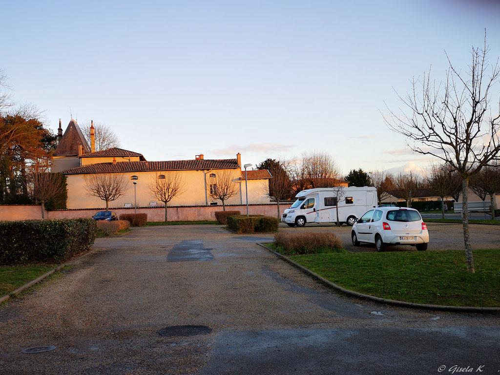 Stellplatz  La Chapelle de Guinchay