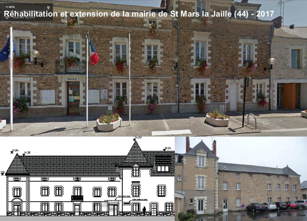 MAIRIE DE SAINT MARS LA JAILLE - MOEBIUS / IPH