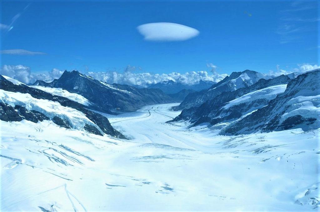 Elite Flights, Rundflüge, Helikopterflug, Aletschgletscher, Berner Oberland, Wallis