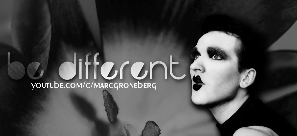 """PROMO: You Tube """"be different"""" / Photo © Marc Groneberg"""