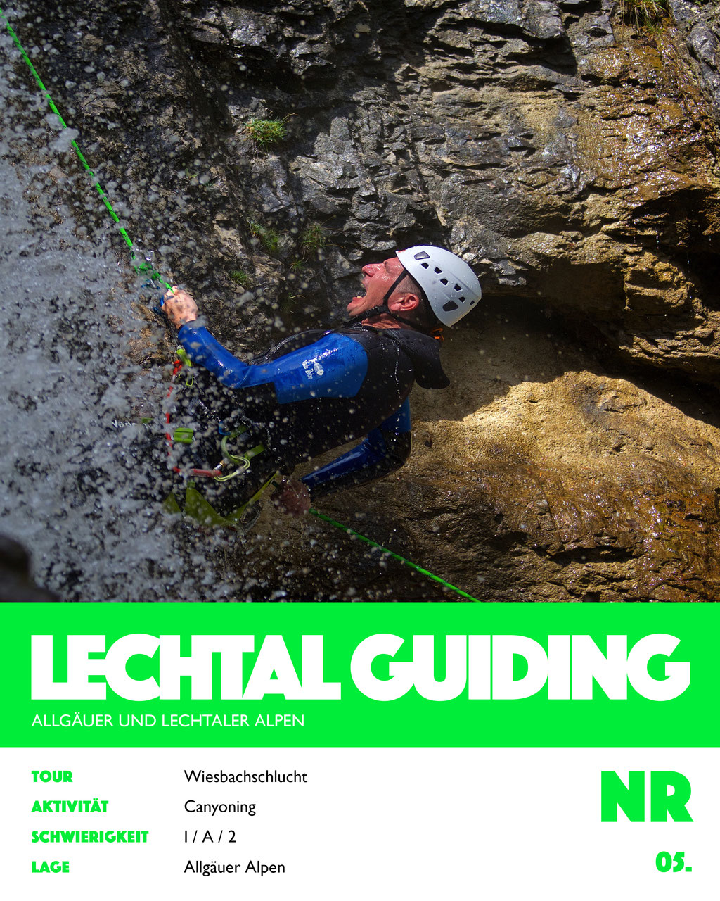 Canyoning Wiesbachschlucht