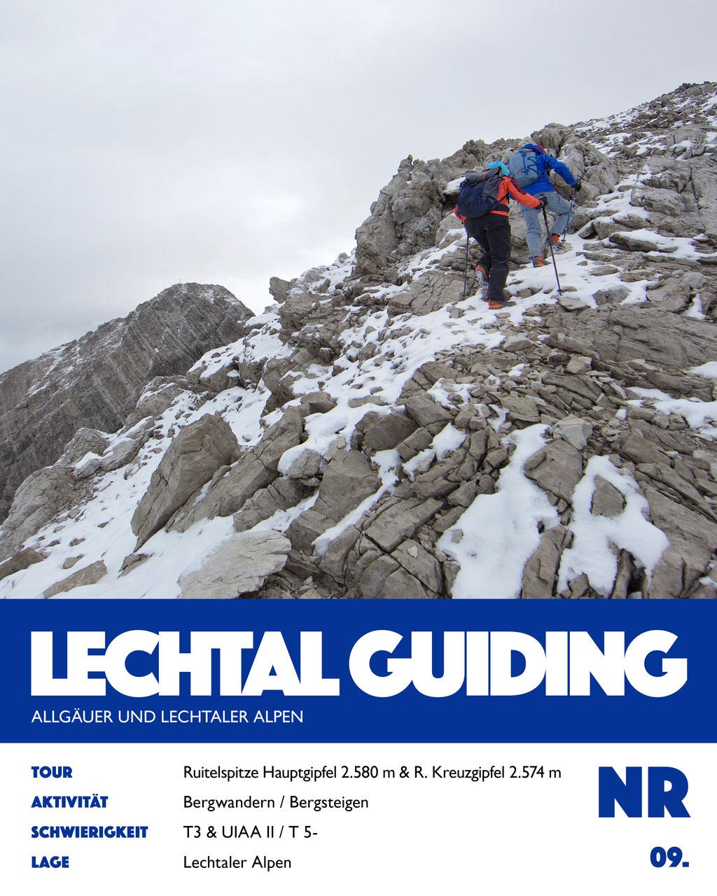 Bergtour - Ruitelspitze Hauptgipfel