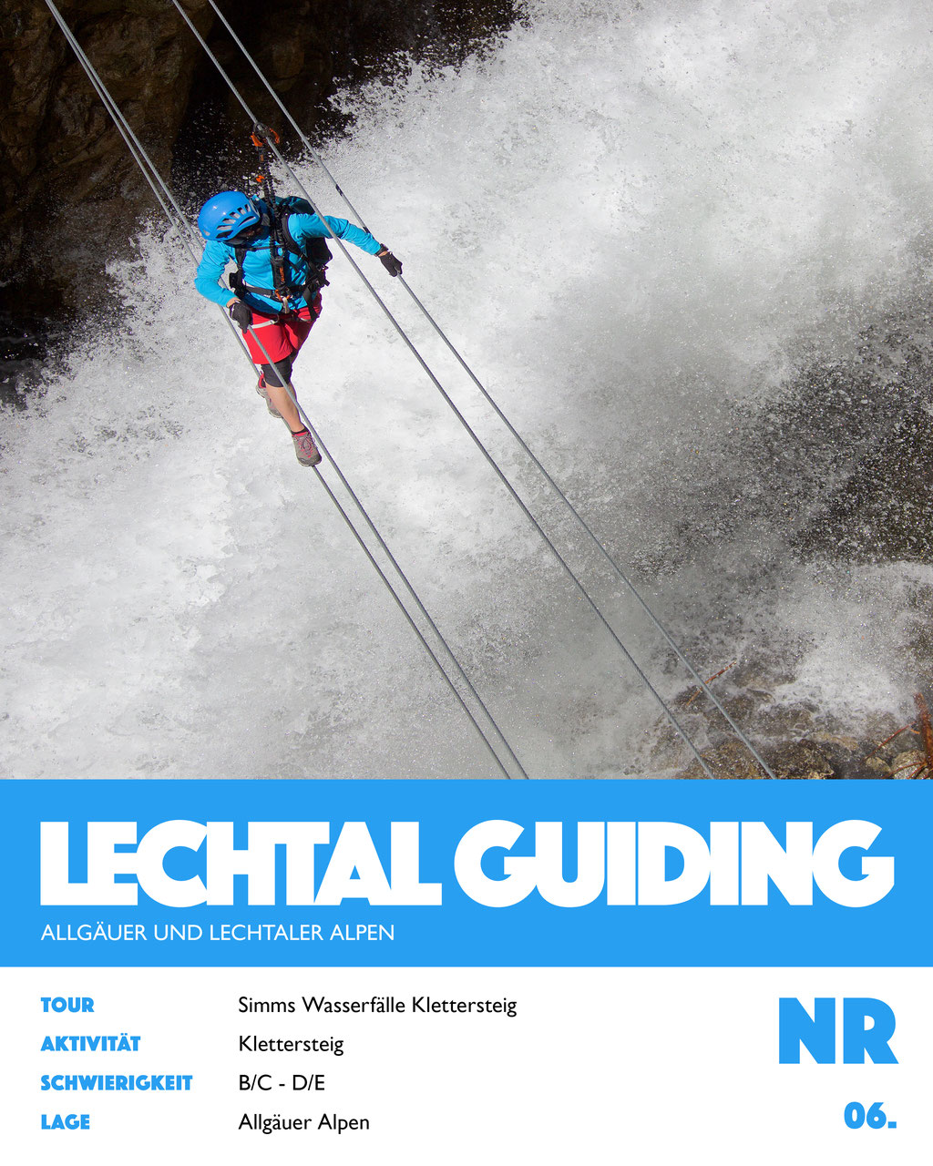 Simms Wasserfälle Klettersteig