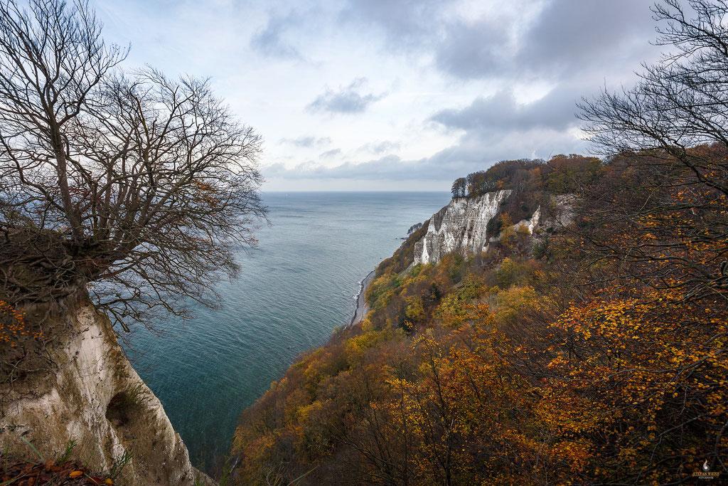 Blick auf die Ostsee vom Königsstuhl