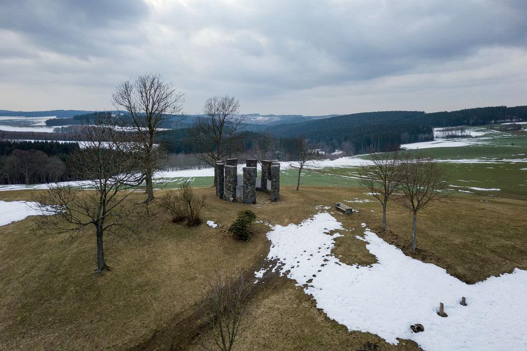 Winter am Huthübel