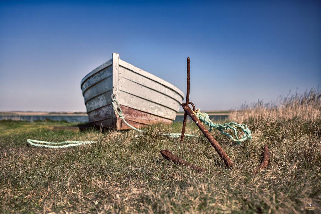 Altes Fischerboot Ferring Sø
