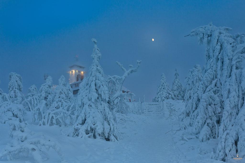 Wintertraum auf dem Fichtelberg