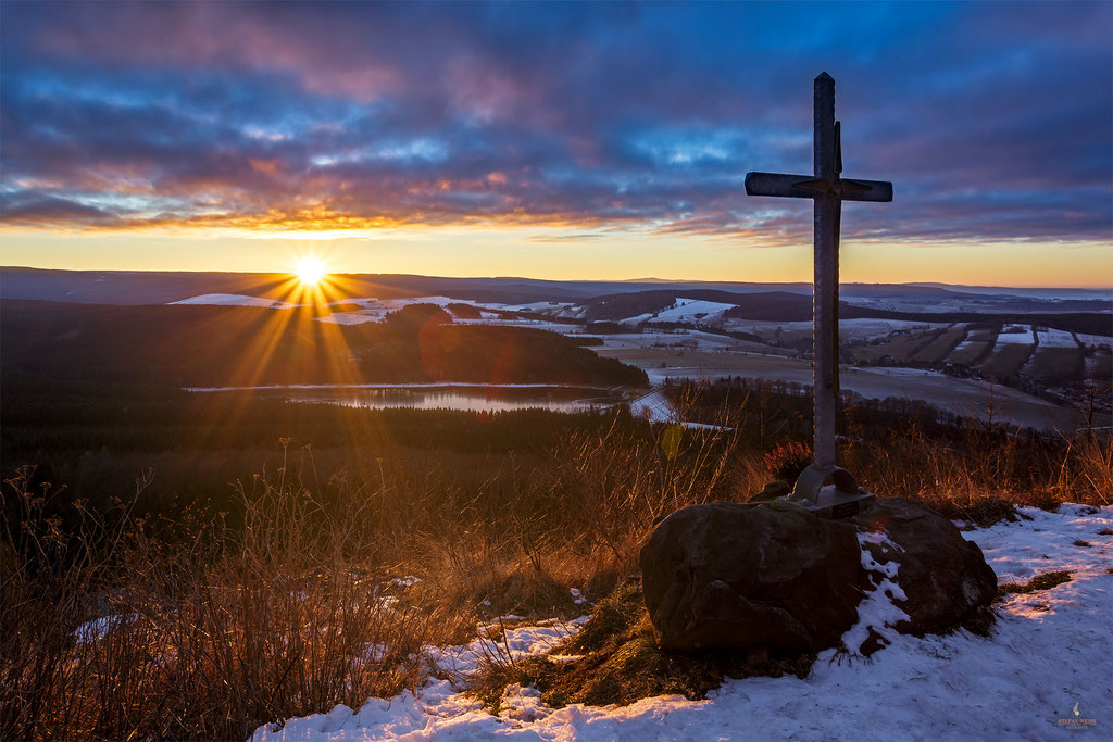 Winter auf dem Bärenstein