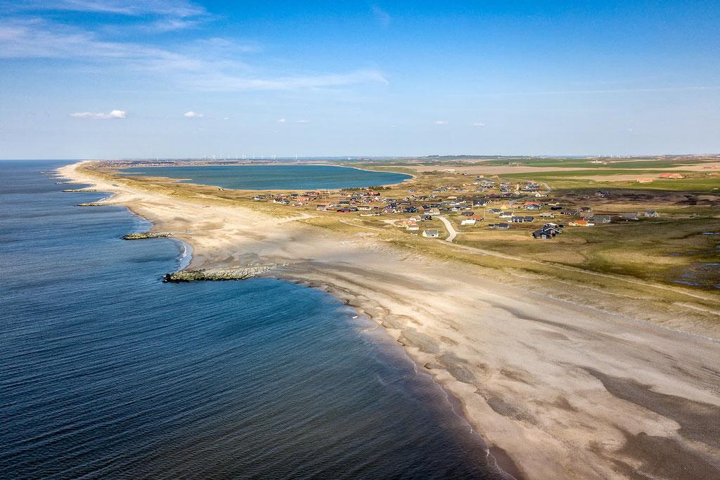 Strand von Ferring Dänemark