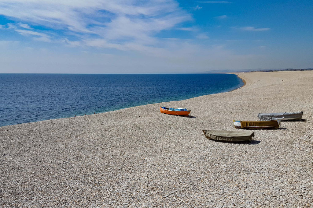 Chesil Beach in Portland