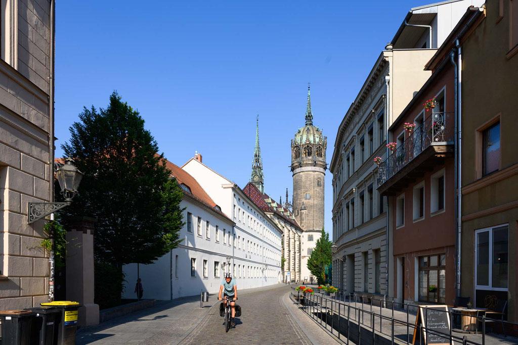 Lutherstadt Wittenberg am Morgen