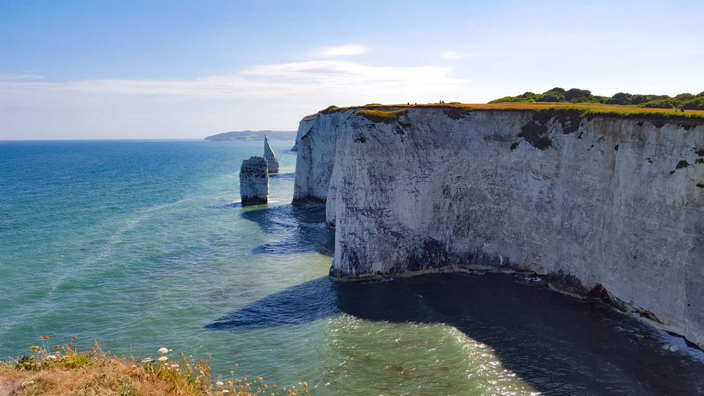 Old Harry Rocks with the Pinnacles