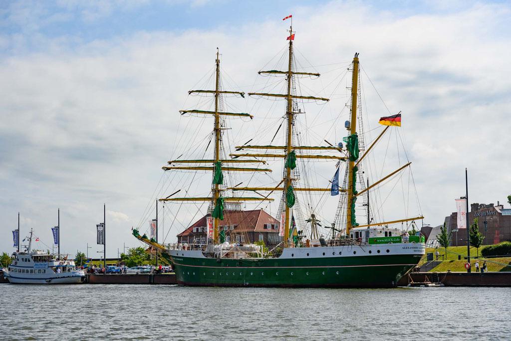 Der Dreimaster Alexander von Humboldt