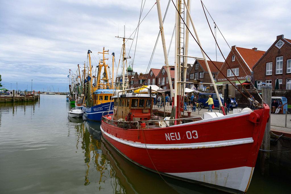Fischerboote im Neuharlingersiel