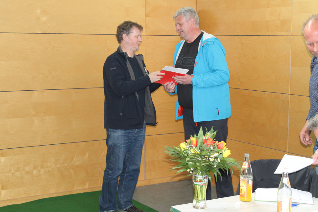Ehrennadel Silber, Ulf Bergmann (2. v.l.)