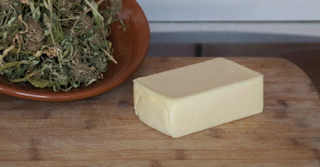 Cannabis Butter zubereiten