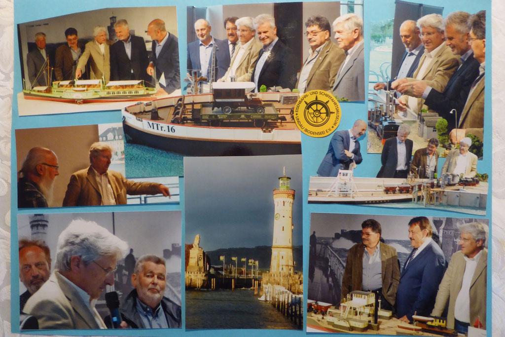 Ausstellung Eisenbahn- und Schifffahrtsmuseum Lindau 150 Jahr-Feier Trajekte am Bodensee
