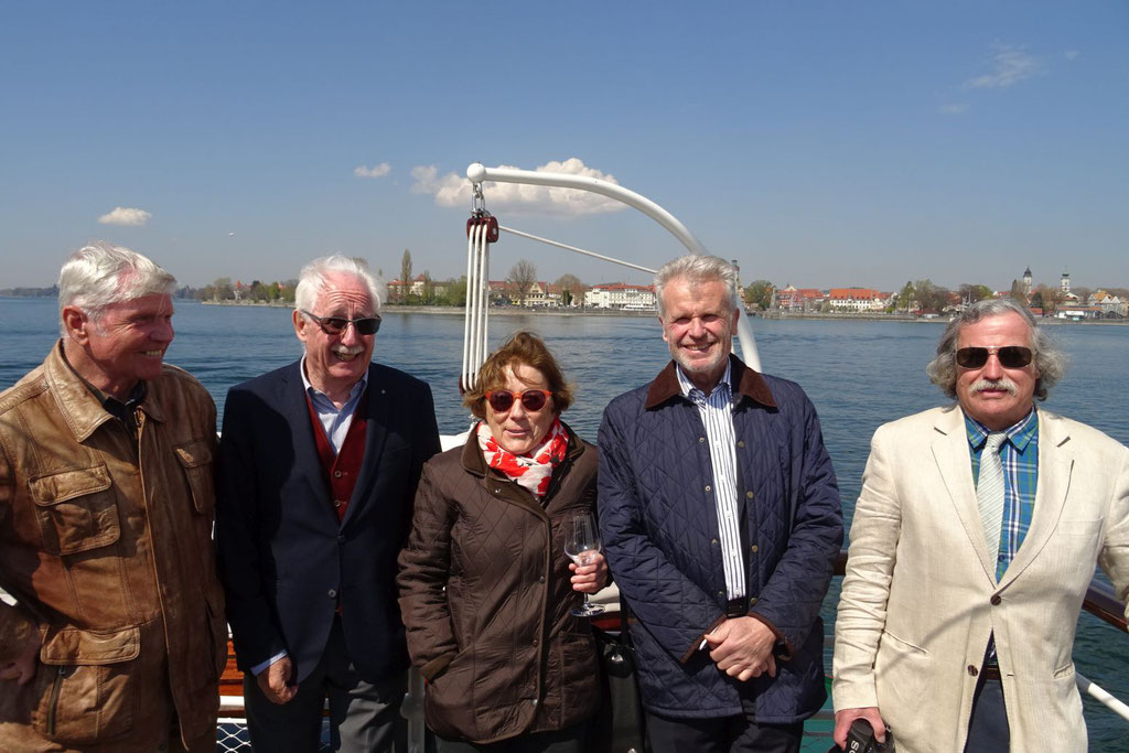MS Oesterreich Einweihungsfahrt vor Lindau; 18.April 2019; Foto Stefan Stern