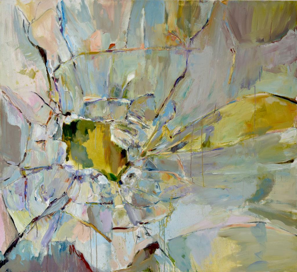 Glass 1 2019 Öl auf Lwd 155 x 170 cm