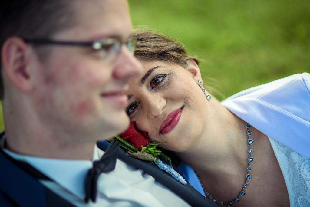 Hochzeit, Hochzeitsfotos im Schloss Erbhof in Thedinghausen