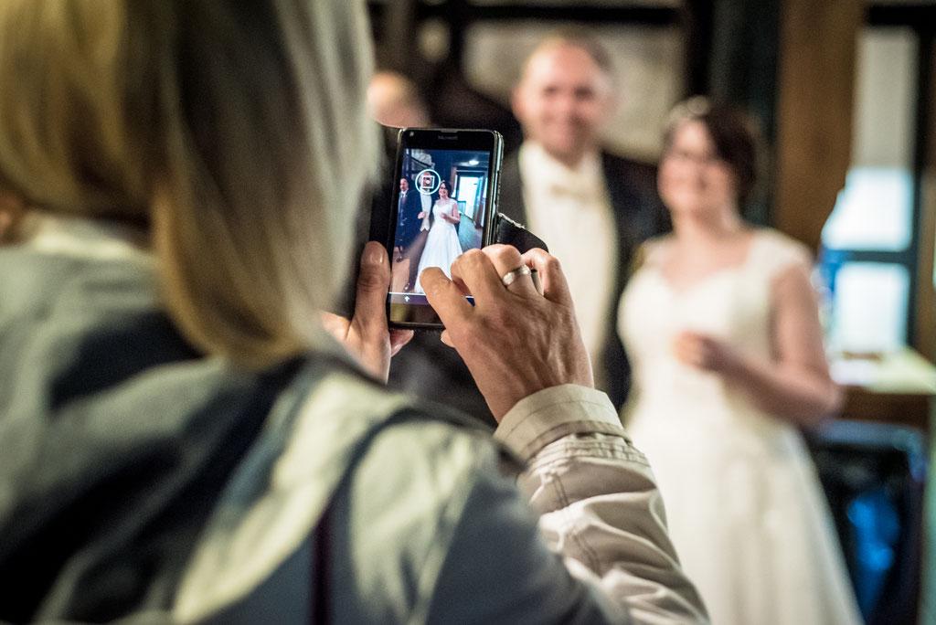 Hochzeit, Hochzeitsfotos im Heimatverein in Oyten