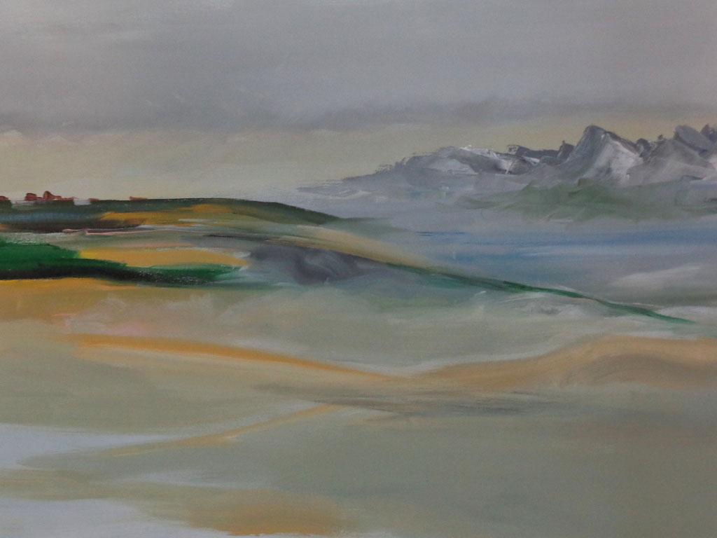 Bild 8  70 x 60 cm  Acryl auf Leinwand