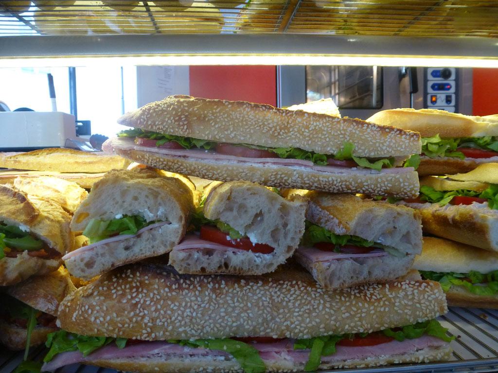 Une grande gamme de sandwich
