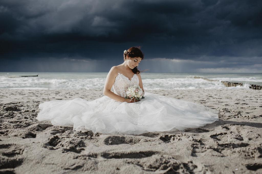 Hochzeitsfotograf-Rostock-Strand Ahrenshoop