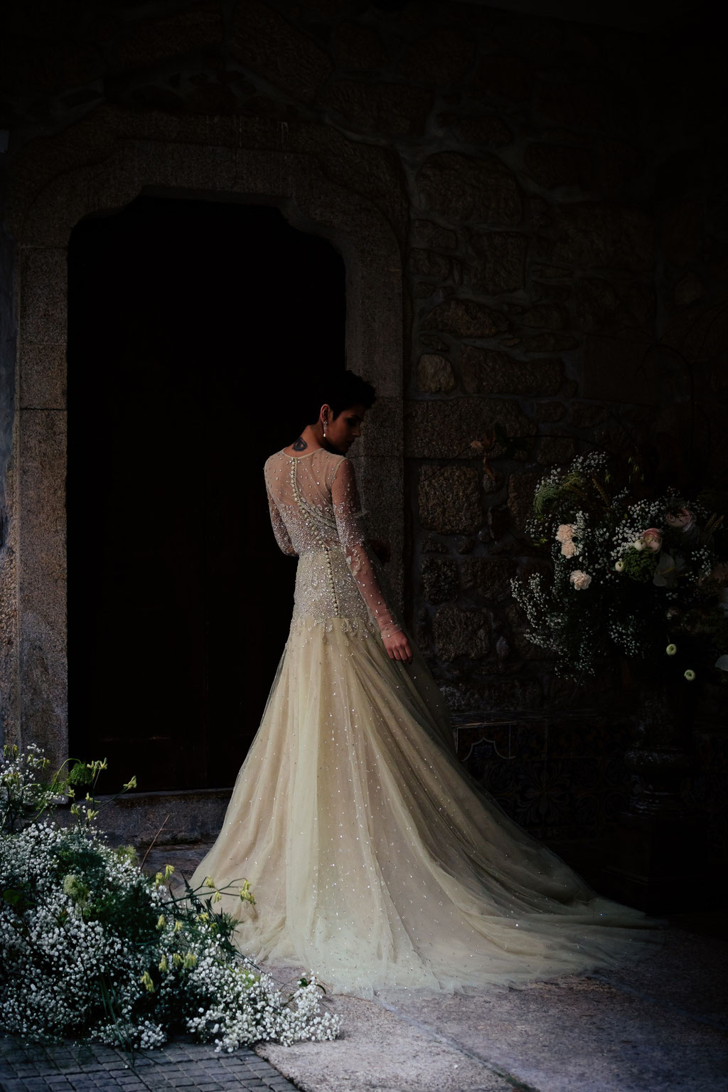ROVA Fineart wedding photography - portugal castle fairy tale - Hochzeitsfotografie Schloss Burg - Elopement - destination wedding