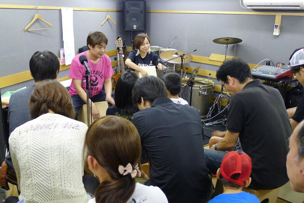 カホン教室(第5回カホン祭)