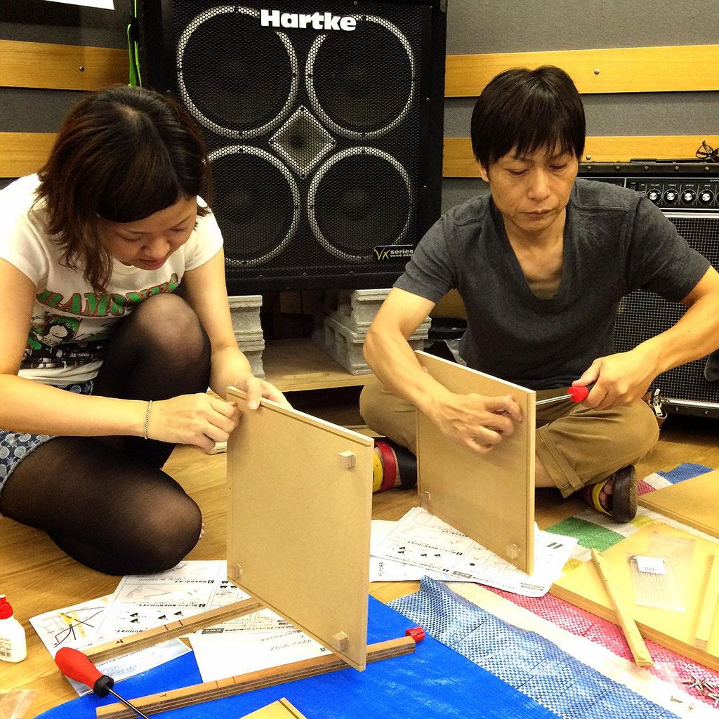 カホン作り(第5回カホン祭)