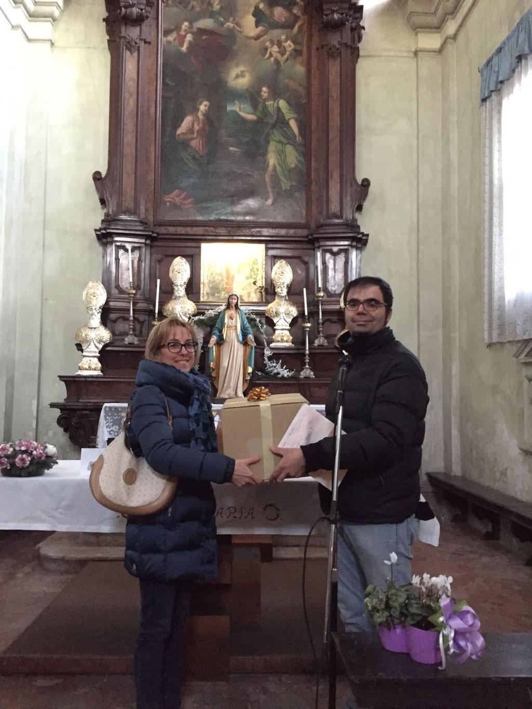 Primo classificato: I Ragazzi e il Presepio: Classe 3a Elementare Catechismo_Maestra Luisa