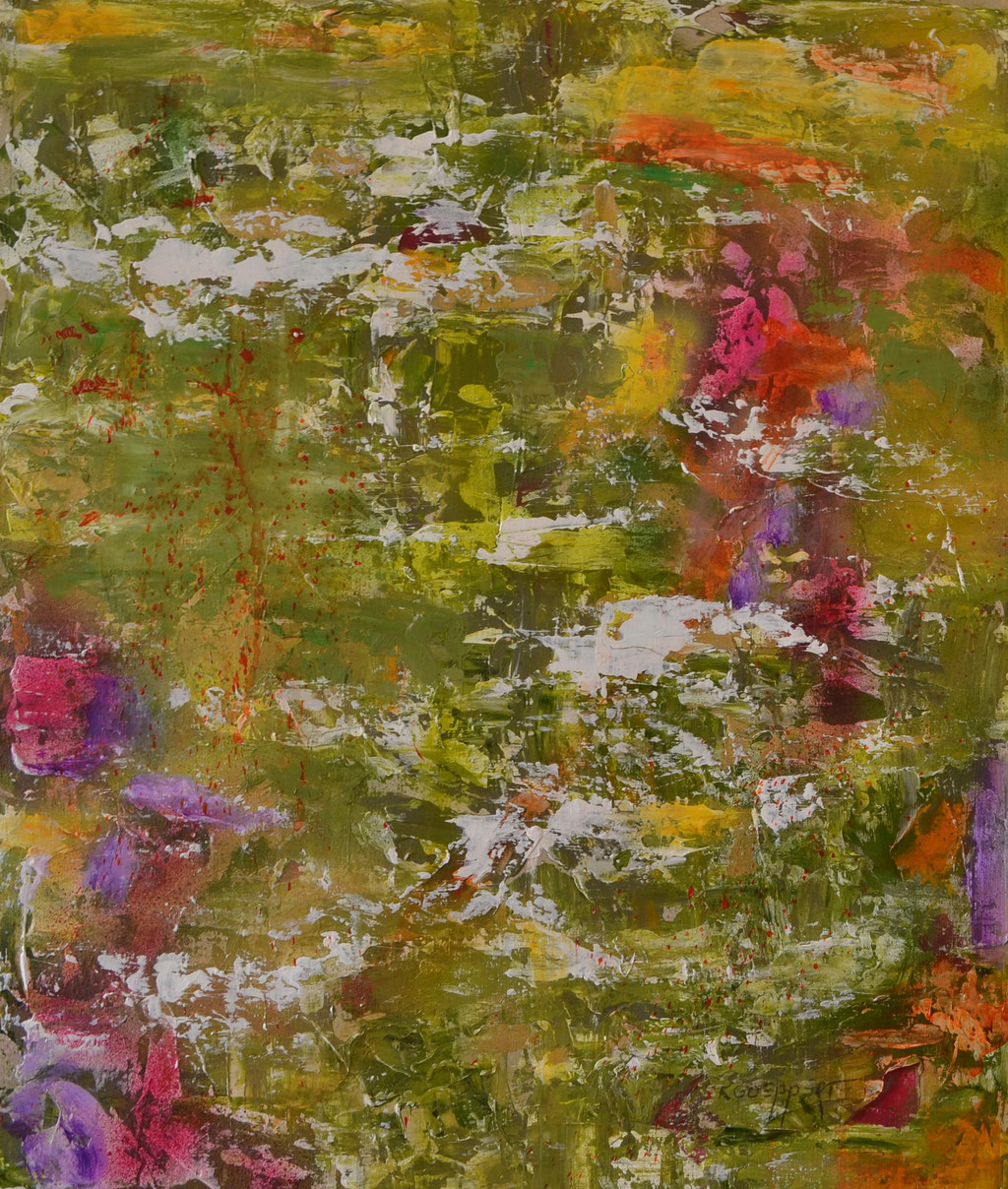 Spring Sessions III 50 x 70 cm acryl on paper