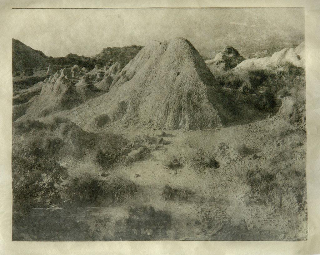 Il Calanco - 2008 - Silber-Gelatine-Print a. handgeschöpftenChinapapier - 43x53 cm - Unikat