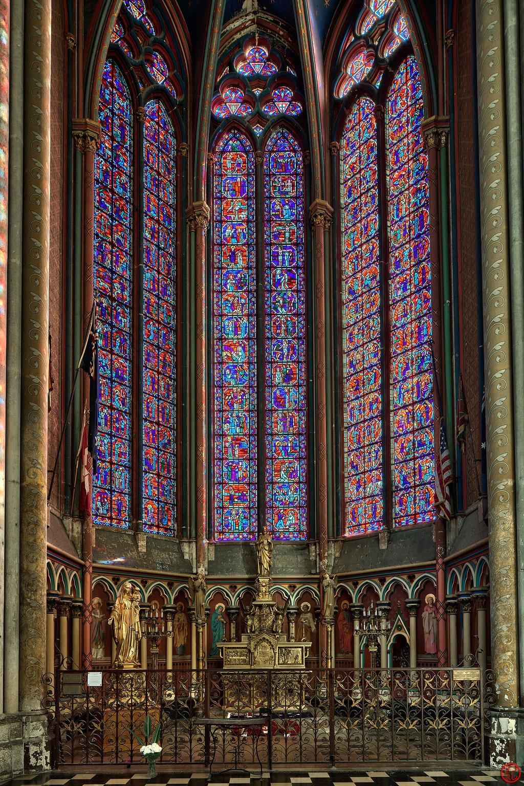 Cathédrale d'Amiens, décembre 2016