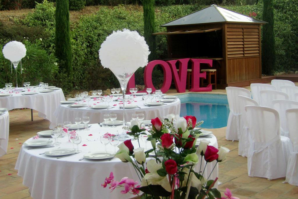 D corateur mariage var 83 et paca site de evenessences - Decorateur de mariage ...