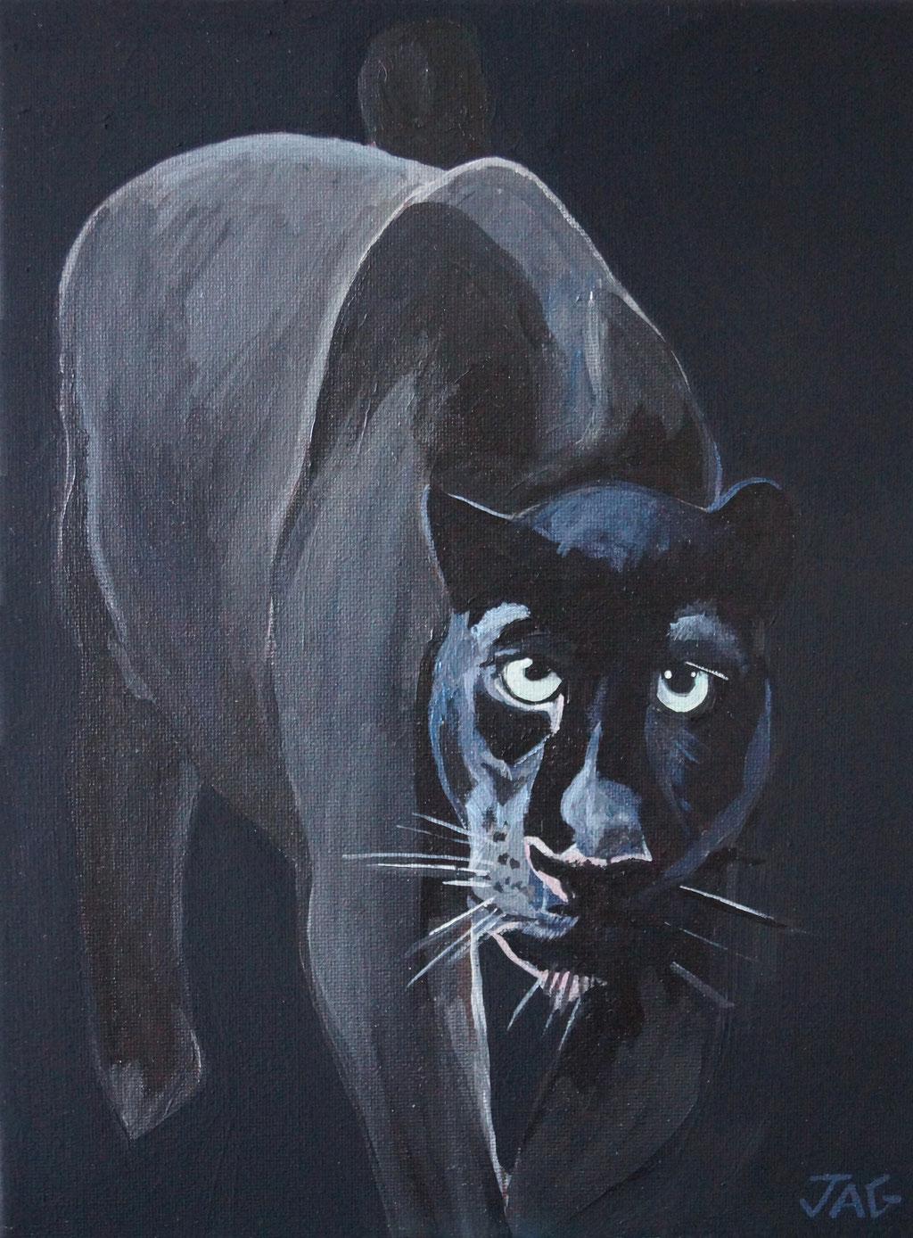 'Chadwick' acrylic on canvas, 2020,  23 x 31cm - price on request