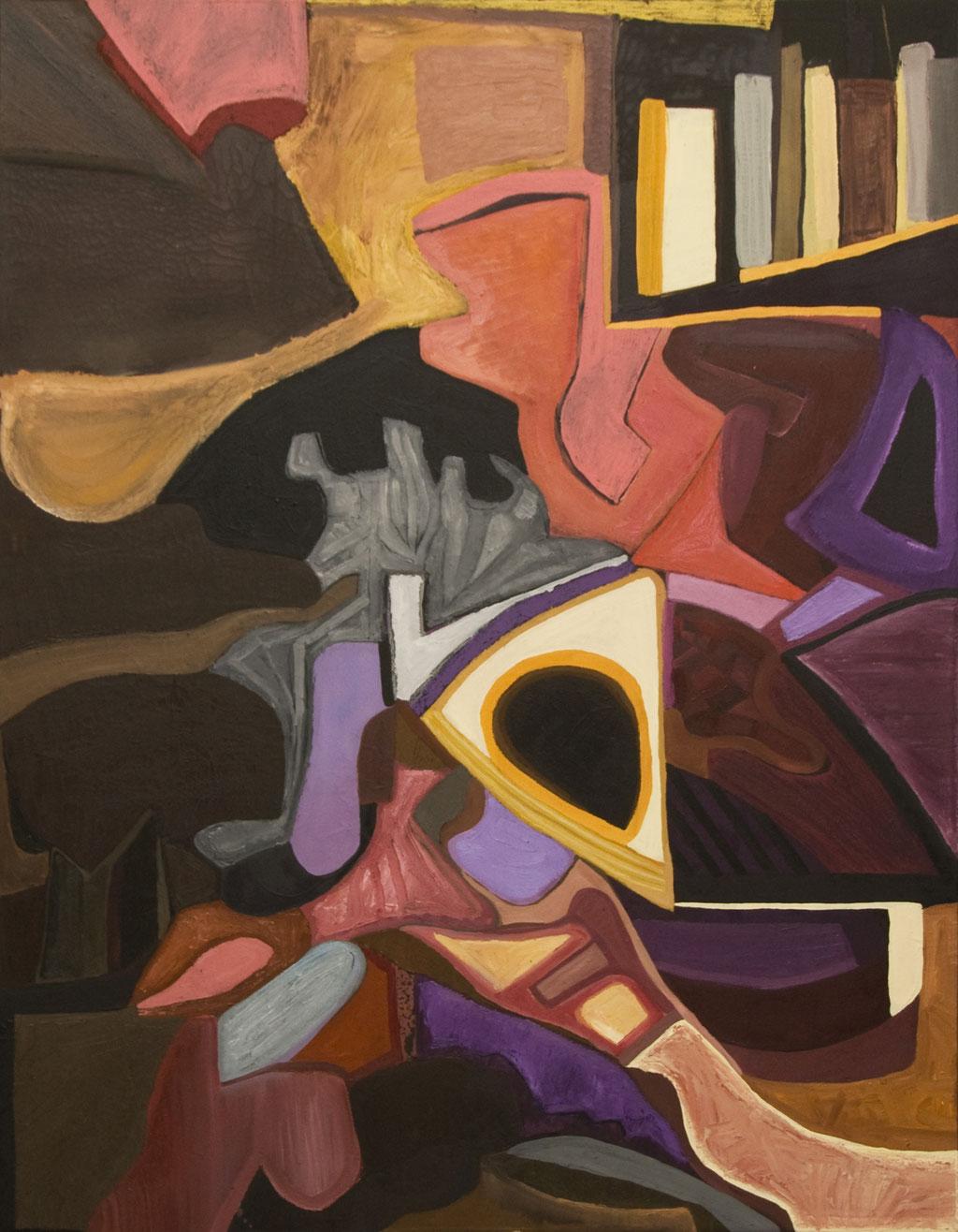 'Mambo Jambo' oil on canvas, 2009 - SOLD