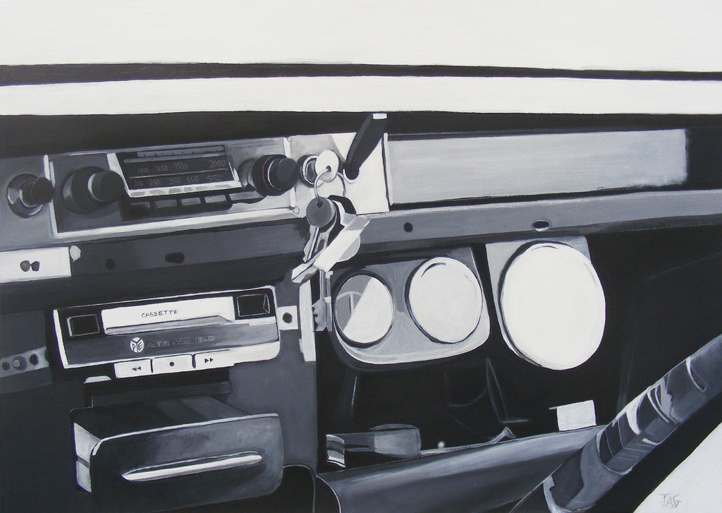 'Bombay Dash' acrylic on canvas, 2012 - SOLD
