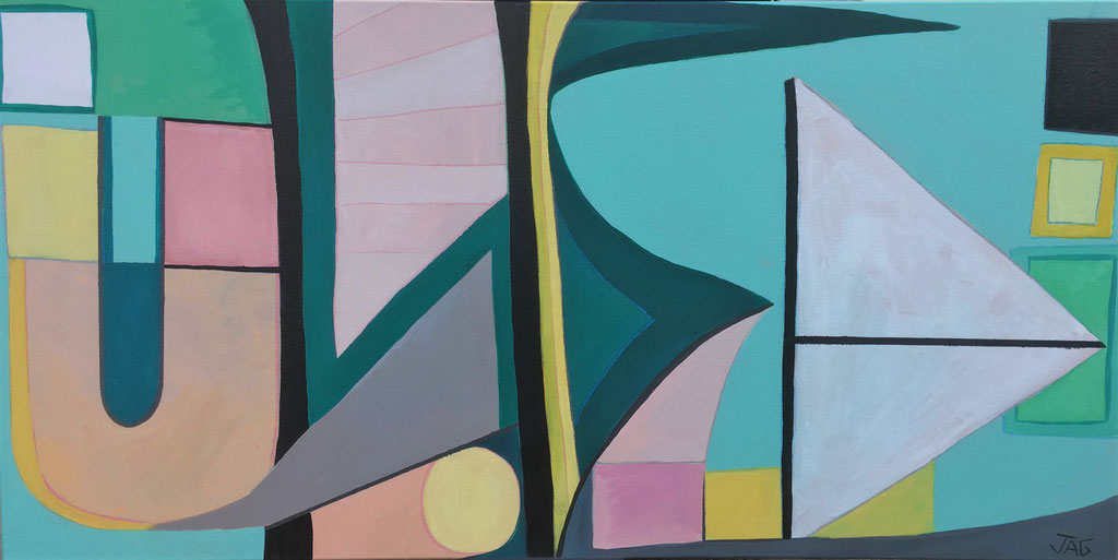 'Bumblebreeze' acrylic on canvas, 2020 - £550