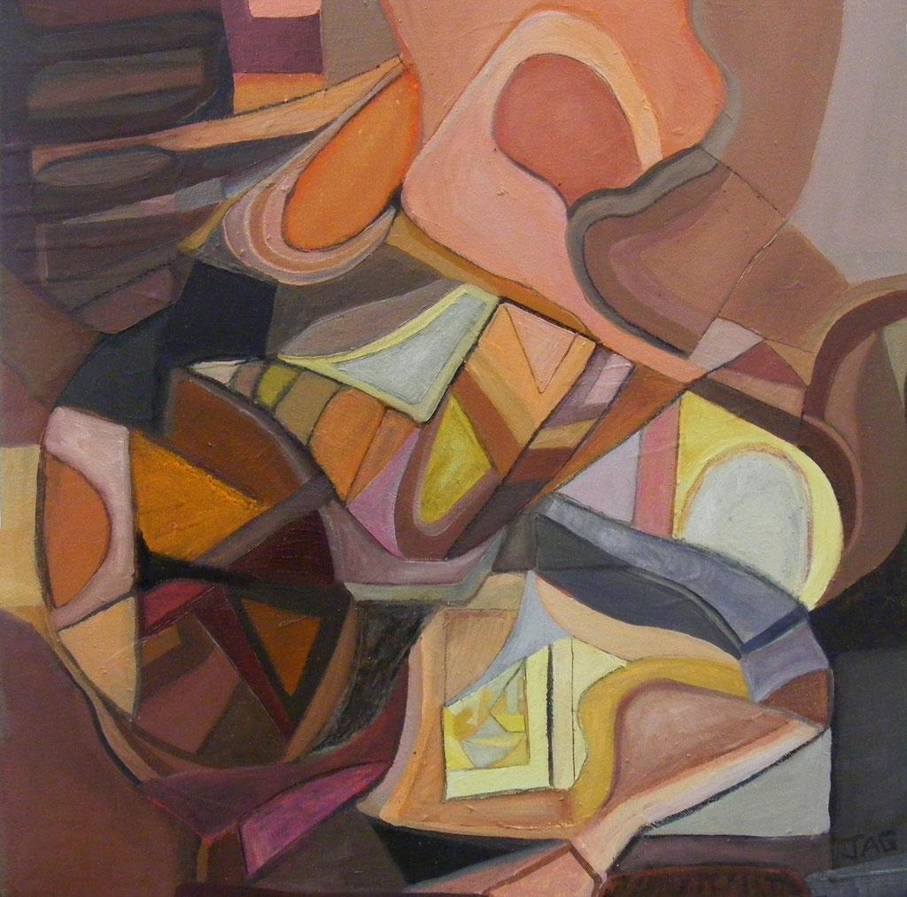 'Jean Genie' acrylic on canvas, 2009 - SOLD