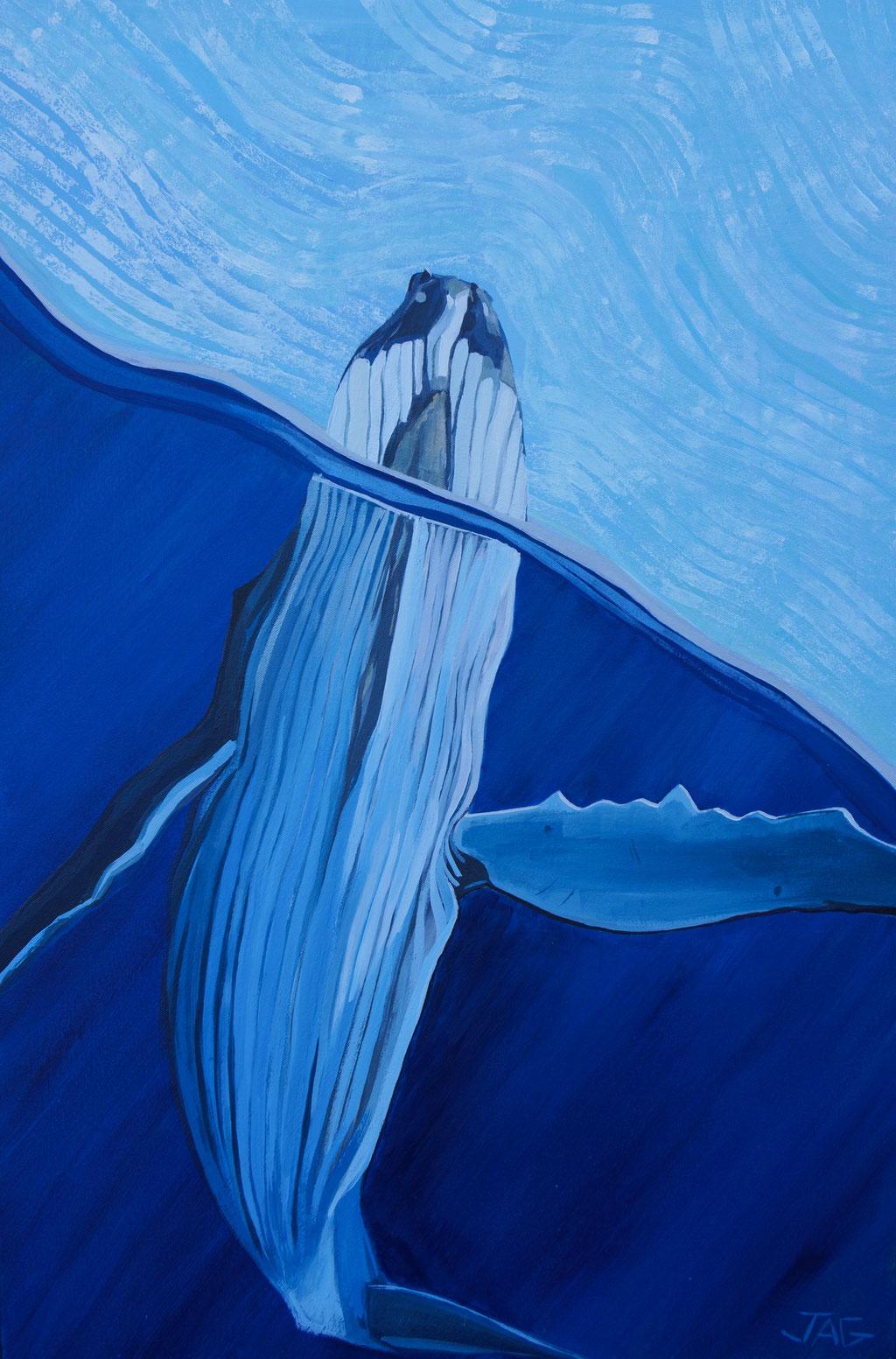 'Helga' acrylic on canvas, 2021, 91 x 61cm - price on request